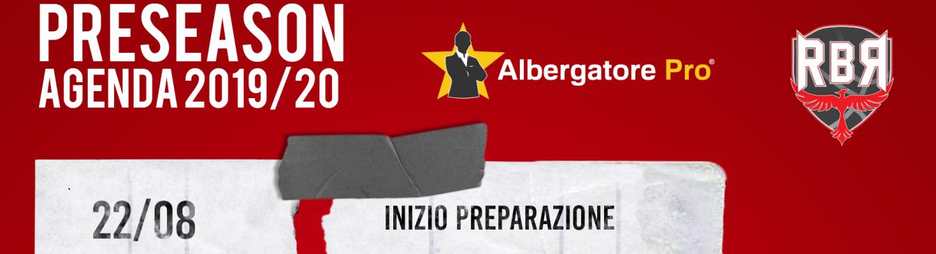 Calendario Fortitudo 2020.Calendario Preseason Rbr 2019 2020 Lega Nazionale