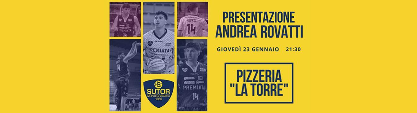 Presentazione Andrea Rovatti