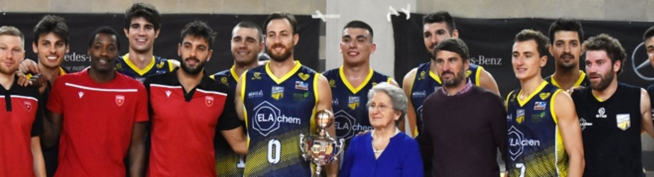 "La ELACHEM batte anche la ROBUR VARESE e vince il ""Memorial Biganzoli"""