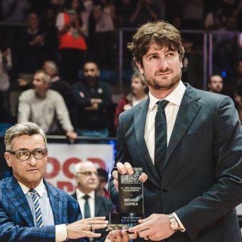 Michele Carrea (Angelico Biella), miglior allenatore A2 Citroën Ovest